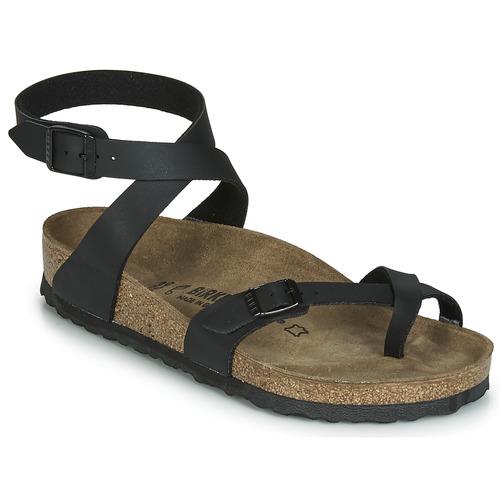 Shoes Women Sandals Birkenstock YARA Black