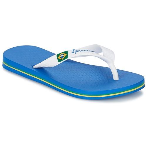 Shoes Boy Flip flops Ipanema CLASSIC BRASIL II KIDS Blue / White