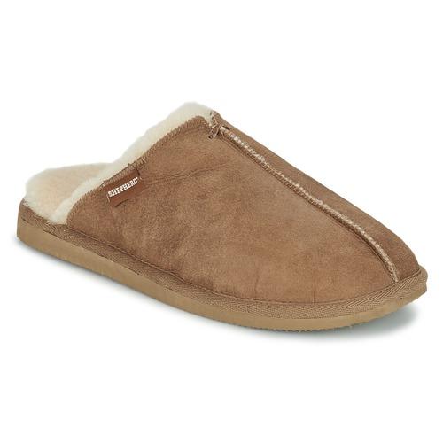 Shoes Men Slippers Shepherd HUGO Camel