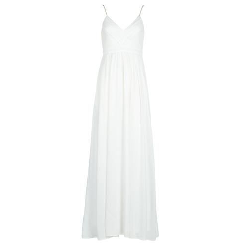 Clothing Women Long Dresses Betty London VICTOIRE White