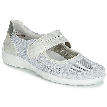 Shoes Women Flat shoes Remonte Dorndorf HUIJI Silver