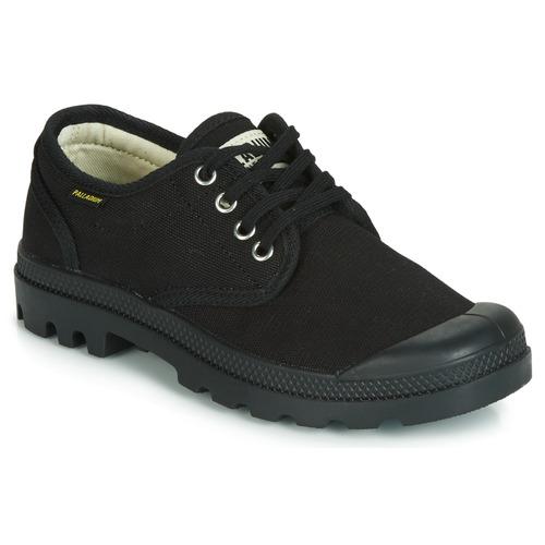 Shoes Low top trainers Palladium PAMPA OX ORIGINALE Black