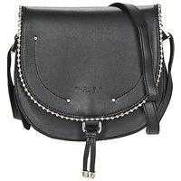 Bags Women Shoulder bags Fuchsia BOTTON 2 Black