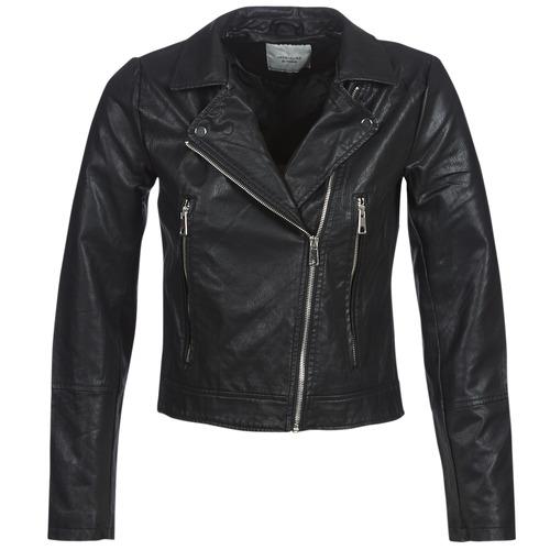 Clothing Women Leather jackets / Imitation leather JDY JDYILDE Black