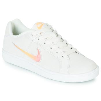 Shoes Women Low top trainers Nike COURT ROYALE PREMIUM W White / Orange