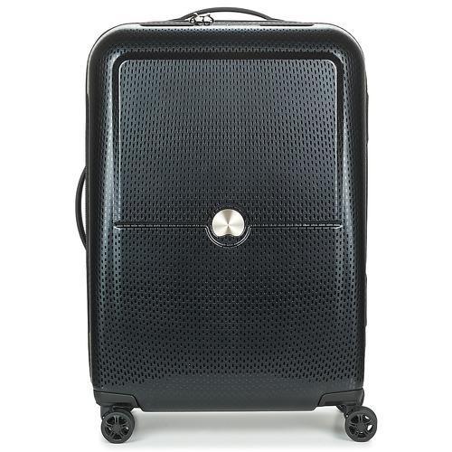 Bags Hard Suitcases Delsey TURENNE CAB 4R 55CM Black