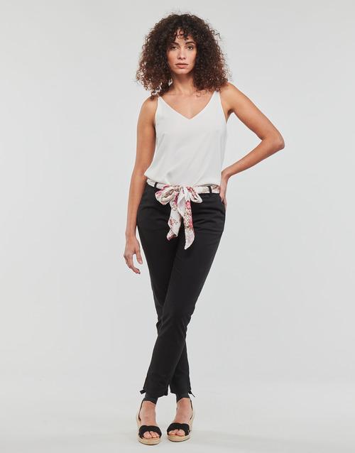 Clothing Women 5-pocket trousers Betty London MIRABINE Black