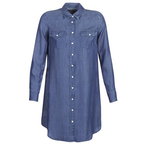 Clothing Women Short Dresses Yurban kOULIOTE Blue / Dark