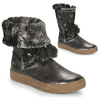 Shoes Girl High boots GBB NOUSTIK Black
