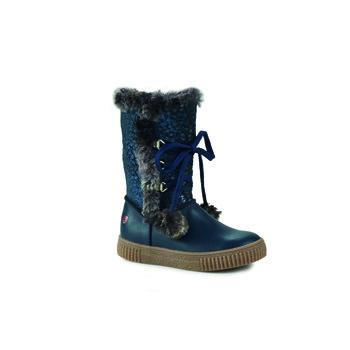 Shoes Girl Mid boots GBB NOUSTIK Blue