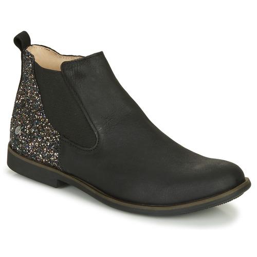 Shoes Girl Mid boots GBB NAKOVO Black