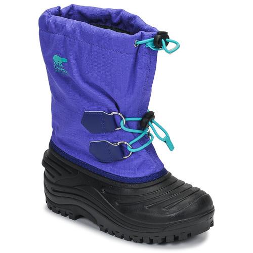 Shoes Children Snow boots Sorel YOUTH SUPER TROOPER Blue