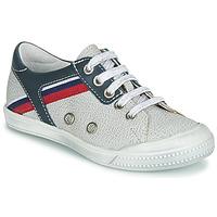 Shoes Boy Low top trainers Ramdam KAGOSHIMA White / Blue