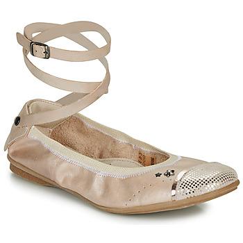 Shoes Girl Flat shoes Ikks EMILY Beige