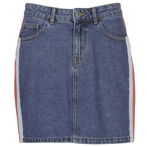 Clothing Women Skirts Only ONLCHRISTY Blue / Medium