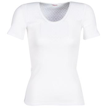 Underwear Women Bodysuits Damart FANCY KNIT GRADE 4 White