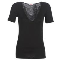 Underwear Women Bodysuits Damart FANCY KNIT GRADE 4 Black