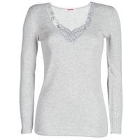 Underwear Women Bodysuits Damart FANCY KNIT GRADE 4 Grey
