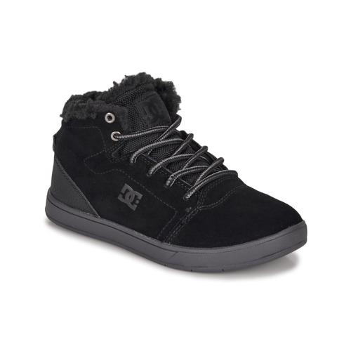 Shoes Children Hi top trainers DC Shoes CRISIS HIGH WNT Black