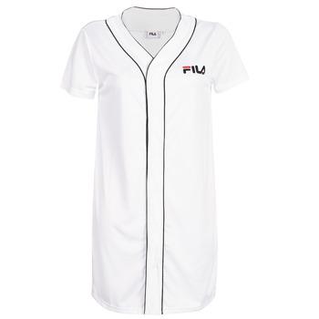 Clothing Women Short Dresses Fila ROBIN White