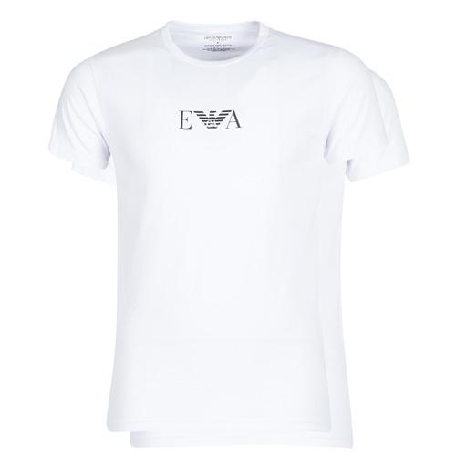 Clothing Men Short-sleeved t-shirts Emporio Armani CC715-111267-04712 White