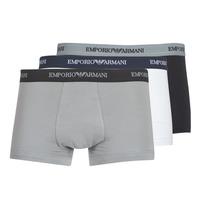 Underwear Men Boxer shorts Emporio Armani CC717-111357-02910 White / Black / Grey