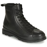Shoes Men Mid boots Camper BRUTUS Black