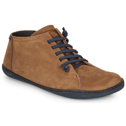 Shoes Men Hi top trainers Camper Peu cami Brown