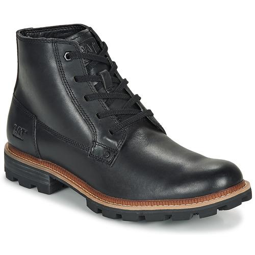 Shoes Men Mid boots Caterpillar Wayward Wp  black