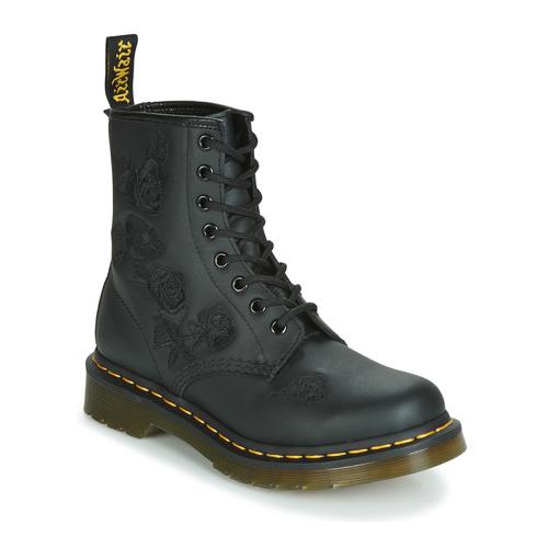 Shoes Women Mid boots Dr Martens 1460 VONDA MONO SOFTY T Black
