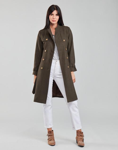 Clothing Women coats Betty London LIPIUS Brown