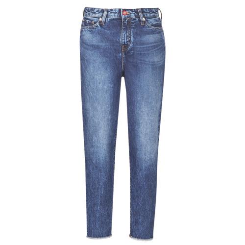 Clothing Women Boyfriend jeans Armani Exchange 6GYJ16-Y2MHZ-1502 Blue