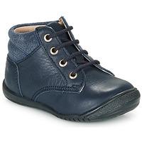 Shoes Boy Mid boots Citrouille et Compagnie RATON.C Vtc / Marine