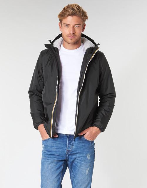 Clothing Men Jackets K-Way LE VRAI 3.0 CLAUDE ORSETTO Black