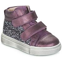 Shoes Girl Hi top trainers Acebo's 5299AV-LILA-C Purple
