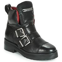 Shoes Women Mid boots Bronx GAMLETT Black