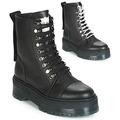 Bronx-RIFKA-SUPER-CHUNKY-womens-Mid-Boots-in-Black