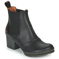 Shoes Women Ankle boots Art CAMDEN Black