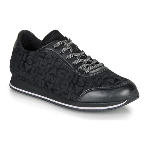 Shoes Women Low top trainers Desigual PEGASO DESIGUAL Black