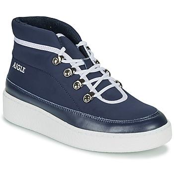 Shoes Women Mid boots Aigle SKILON MID Marine