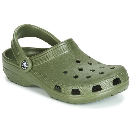 Shoes Clogs Crocs CLASSIC Kaki