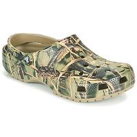 Shoes Men Clogs Crocs CLASSIC REALTREE Kaki