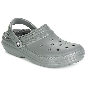 Shoes Clogs Crocs CLASSIC LINED CLOG Grey