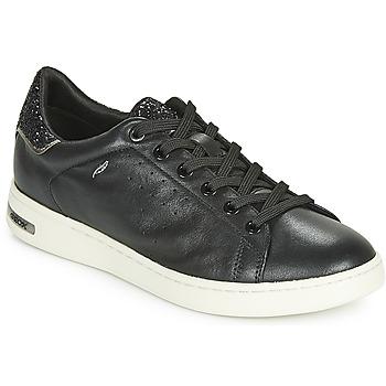 Shoes Women Low top trainers Geox D JAYSEN Black