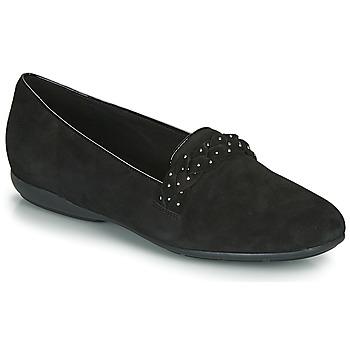 Shoes Women Flat shoes Geox D ANNYTAH Black