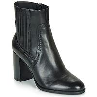 Shoes Women Ankle boots Geox D JACY HIGH Black