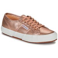 Shoes Women Low top trainers Superga 2750 COTMETU Pink