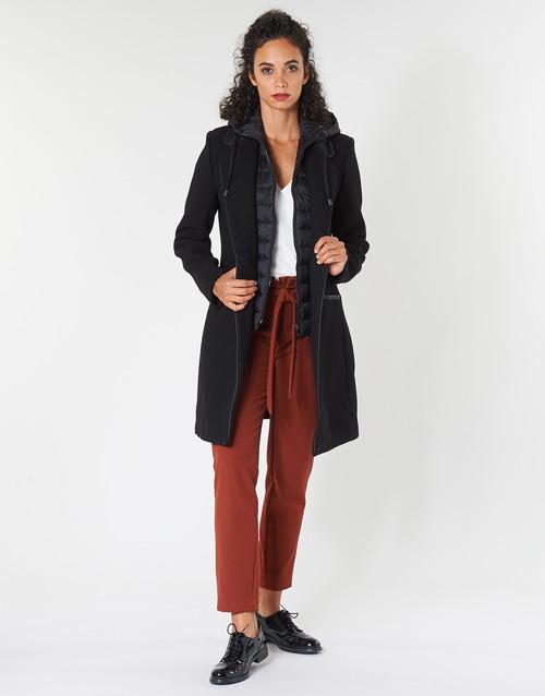 Clothing Women coats One Step DRISS Black