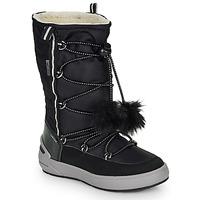 Shoes Girl High boots Geox J SLEIGH GIRL B ABX Black