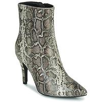 Shoes Women Ankle boots Les Petites Bombes ENAEL Brown